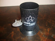 Star Trek Tng---pencil Cup---from Applause---very Hard To Find---box And Coa--1994