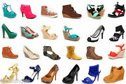 Wholesale Lot Womenand039s Shoes Mix Match Fashion Pump Boots Sandals Sneaker Wedge