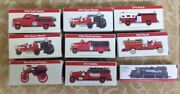 9 - 1999 Readerand039s Digest Association Vintage Fire Truck And Train Toys -new-