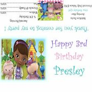Doc Mcstuffins Candy Bar Wrappers/birthday Party Favors