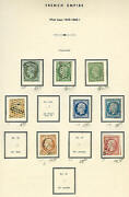 France Mint And Used Collection 2 Volumes 1853-1979 3925.00