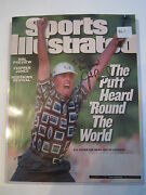 1999 Ryder Cup Justin Leonard Autograph Sports Illustrated - Nice - Rh-3
