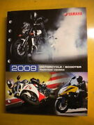 Yamaha 2009 Motorcycle Scooter Technical Update 8 Chapters Lit-17500-mc-09