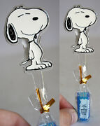 Amazing Very Rare Vintage Snoopy Anaglyph Kids Tooth Brush Brand New