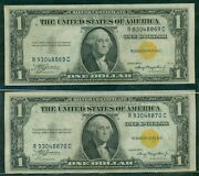 1.00 Silver Certificates Andndash North Africa 1935a Fr. 2306 Cons Serial S Unc