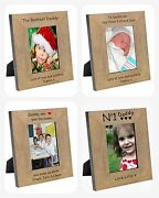Personalised Birthday Photo Picture Frame Gifts Present For My Our Dad I Love