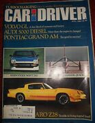 Car And Driver Magazine - 8 Piece Lot - And03980 And And03981