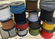 25and039 Cloth Covered 2-wire Electrical Cord - Vintage Style Fabric Lamps Fans Usa