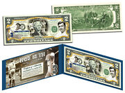 Babe Ruth New York Yankeescollectible Colorized Usa Legal 2 Dollar Bill-gift