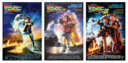 Back To The Future I Ii And Iii - 3 Piece Movie Poster Set Size 27 X 40