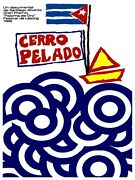 5071.cerro Pelado.boat Drifting In Troubled Waters.poster.decor Home Office Art