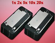 Lot Black Iphone 4 Cdma Back Glass Rear Door Battery Case Cover Replacement