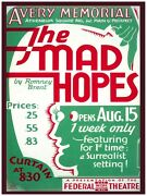 5639.the Mad Hopes.a Very Memorial.federal Theatre.poster.home Office Decor