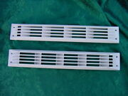 White Boat Marine Vent Louver Bilge Exhaust 17-1/2 New Pachanga Glastron Others