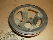 1970 Ford Pickup 390 Engine Crank Pulley Acme Fm-6321-6 P/s Ac Mustang Rat Rod