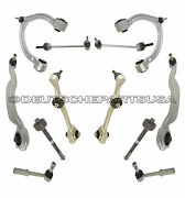 Mercedes W221 S280 S300 Front Control Arms Ball Joints Suspension Kit 2012 2013