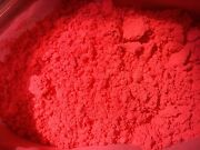Fluorescent Red Orange Pigment Nail Polish Eye Shadow Lip Product Free Shipping