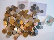 Lot Of U.s. And World Coins And More- 1940and039s And 1950and039s And More - Unsearched - Bb-1