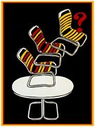 7240.beach Chairs Flying Of Outside Patio Table.poster.interior Art Wall Decor