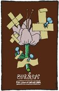 8297.chapucerias.cuban Film.band-aids On Flower.poster.movie Decor Graphic Art