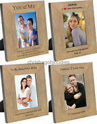 Personalised Picture Photo Frame For My Wife Girlfriend Fiance Birthday Gifts