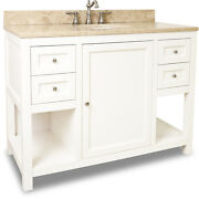 Jeffrey Alexander Vanity With Preassembled Top And Bowl Van091-48-t New - Qty 1