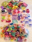 Lps Littlest Pet Shop Huge Playset And Parts Lot Very Rare Items