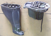 Yamaha F 25 Hp 4strk 20 Midsection Exhaust Oil Pan Upper Casing 65w-45111-10-4d