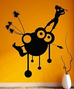 Music Wall Stickers Musical Relax Cool Room Decor Guitar Vinyl Decal Ig2355
