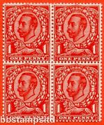 Sg. 341 Variety N11 4. 1d Very Deep Bright Scarlet. A Super Unmounted Mint.
