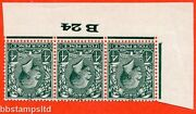 Sg. 424 Wi. N39 2 A. 4d Grey Green. Inverted Watermark. A Fine Unmounted Mint
