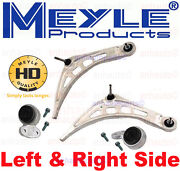 Meyle Heavy Duty Front Control Arm And Bushing Kit Left And Right Bmw E46