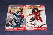 Amazing Spider Man And Spider Woman 1 Set All New Marvel Now Slott 2014 1st Print