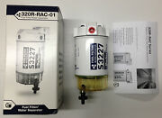 Outboard Gen Parker Racor Marine Fuel Filter Water Separator 10 Micron 320rrac01