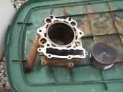 2005 Yamaha Grizzly 660 4wd Engine Jug Cylnder With Piston