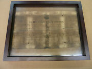 Original Us Army Zachary Taylor 12th President Of The U.s.a Discharge Papers