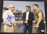 Dicaprio And Damon And Scorsese Signed The Departed New 11x14 Photo Psa/dna V04610