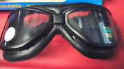 Nos Emgo Roadhawk Red Baron Motorcycle Goggles 76-50110