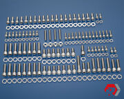 Bbc Big Block Chevy 348 - 409 V8 Stainless Steel Engine Bolt Kit And03958-and03965 Chevy