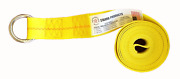40 Pack 2 X 10ft Lasso Strap W/ O-ring, Tow Dolly Wheel Lift Rollbacktie Down