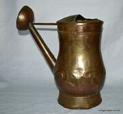 Stunning French Antique 19th Century Copper Watering Can