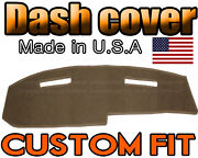 Fits 1967-1971 Ford Thunderbird Dash Cover Mat Dashboard Pad / Taupe