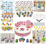 Kid Character And Disney Birthday Party Celebration Cup Cake Confetti Decoration