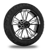 Xtreme Machine Execute Xquisite 17 Rear Wheel 200 Tire Package Harley 09-15