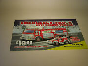 Hess 2005 Emergency Truck With Rescue Vehicle Regular Horozontal Poster