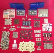 ☆ 50 Coins From Estate Collection ☆ Roman World Old Early Us 1800s Gold Silver