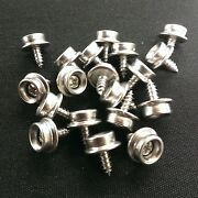20 3/8 All Stainless Steel Screw Snap Studs - Auto- Marine-truck- Boat- Covers