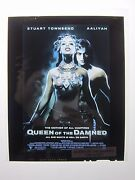 Queen Of The Damned Movie Key Art Poster Transparencies Set 2 Warner Brothers