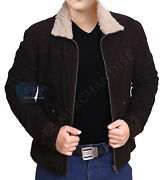 The Walking Dead Rick Grimes - Andrew Lincoln 100 Suede Leather Jacket