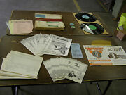 Nos Oem Ford 1959 Truck Dealership Training Kit Literature Clutch Book Record